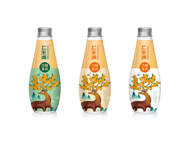 上生源沙棘汁 Package Design